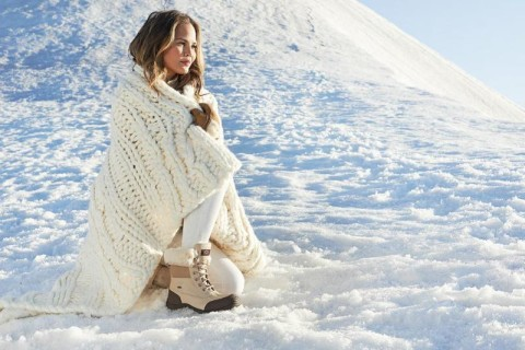 Chrissy Teigen And Jack Guinness Star In UGG Australia's Winter 2015 Campaign